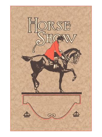 Horse Show, English Rider