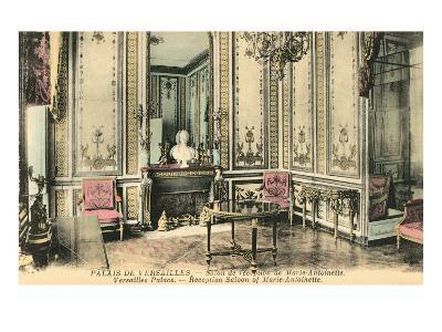 Marie Antoinette Salon Room at Versailles