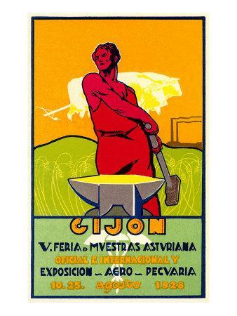 Man with Anvil Gijon