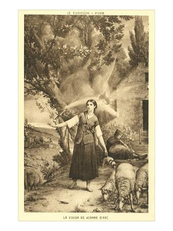 The Vision of Jeanne d'Arc