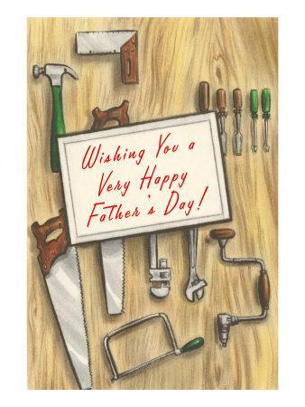 Wishing You a Happy Father's Day, Tools