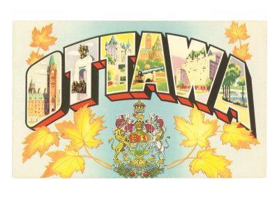 Ottawa, Large Letters
