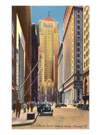 LaSalle Street, Chicago, Illinois
