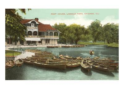 Boat House, Lincoln Park, Chicago, Illinois