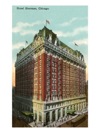 Hotel Sherman, Chicago, Illinois