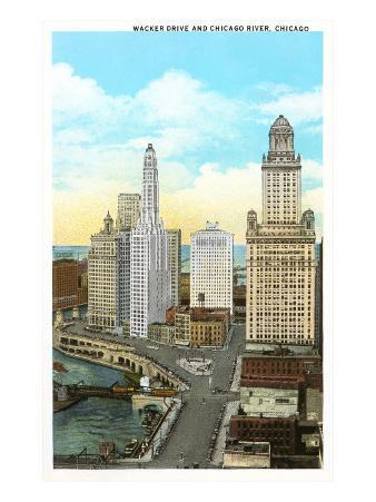 Wacker Drive, Chicago, Illinois