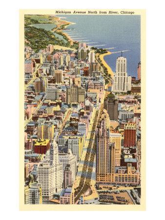 Michigan Avenue, Chicago, Illinois