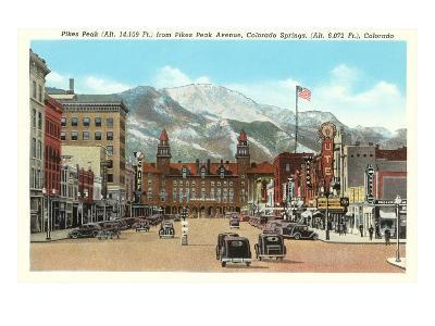 Pike's Peak, Colorado Springs, Colorado