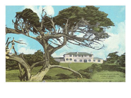 Cypress Point Golf Club Pebble Beach California Posters
