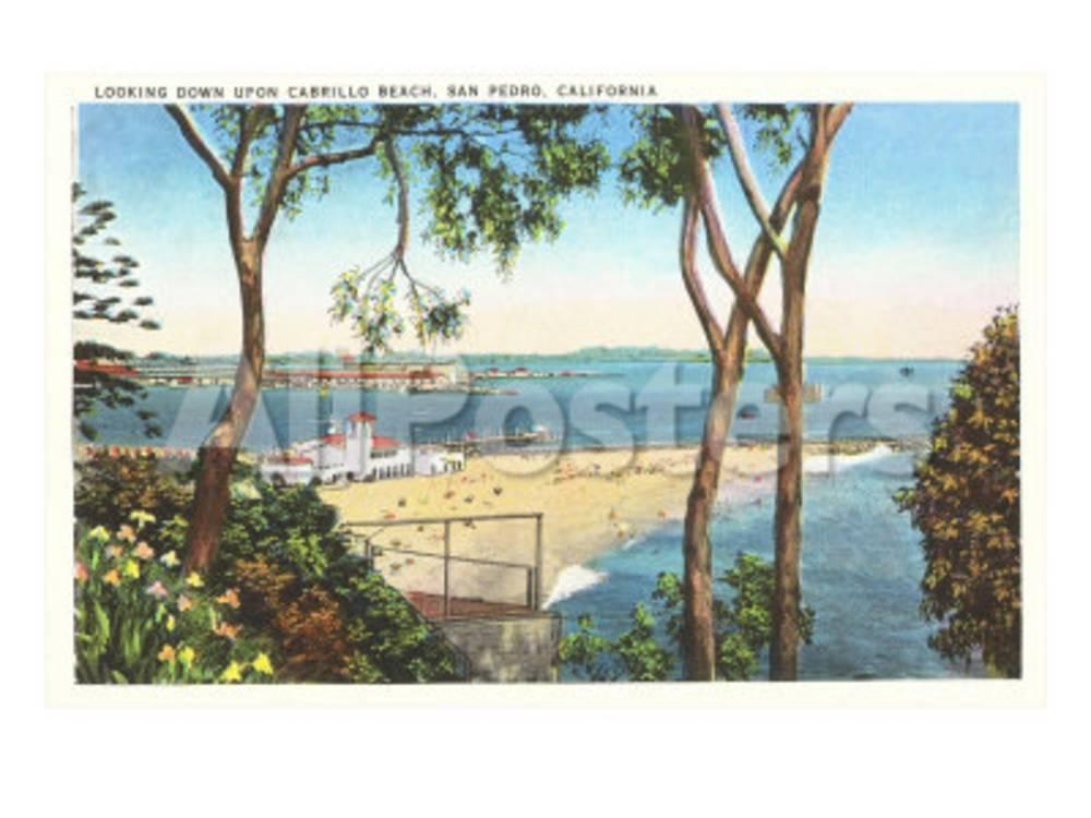 Cabrillo Beach, San Pedro, California Poster At AllPosters.com