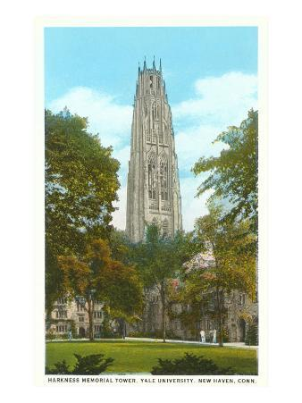 Harkness Tower, Yale, New Haven, Connecticut