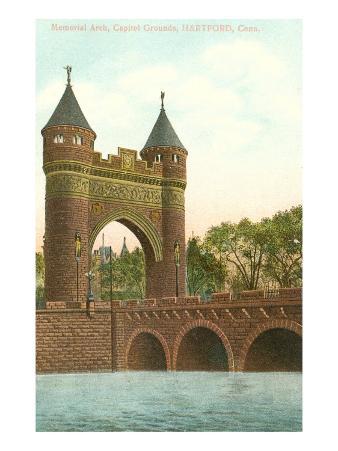 Memorial Arch, Hartford, Connecticut