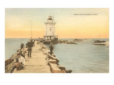 Outer Lighthouse, Saybrook, Connecticut