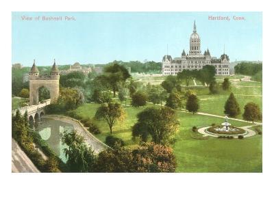 Bushnell Park, Hartford, Connecticut