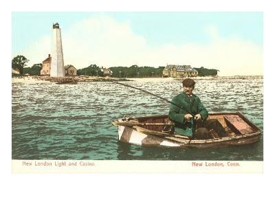 Lighthouse and Casino, New London, Connecticut