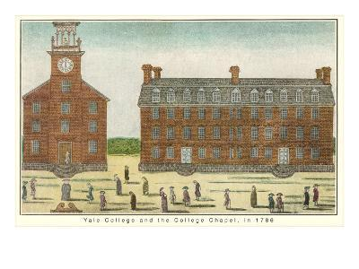 Early View, Yale University, New Haven, Connecticut