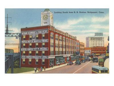 Downtown Bridgeport, Connecticut