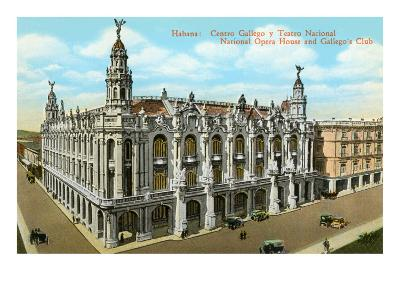Opera House, Havana, Cuba