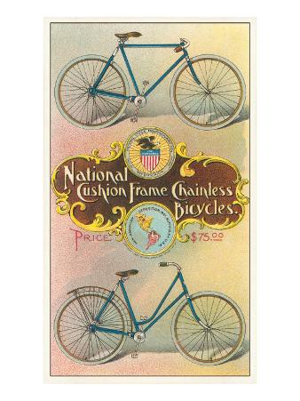 National Cushion Frame Chainless Bicycle