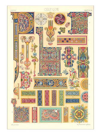 Celtic Motifs, Decorative Arts
