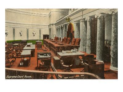 Supreme Court Room, Washington D.C.