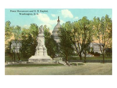 Peace Monument, Capitol, Washington D.C.