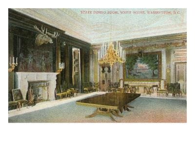 State Dining Room, White House, Washington D.C.