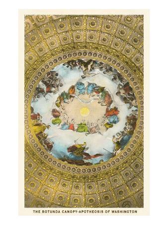 Rotunda Canopy, Capitol, Washington D.C.