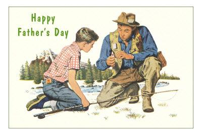 Happy Father's Day, Fishing