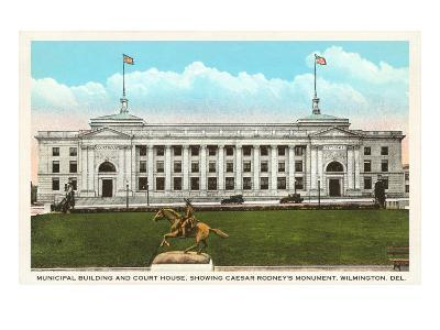 Municipal Building, Courthouse, Wilmington, Delaware
