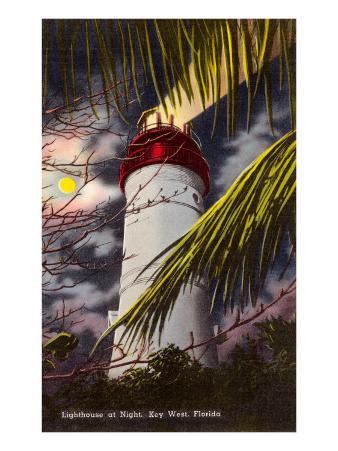 Lighthouse, Key West, Florida