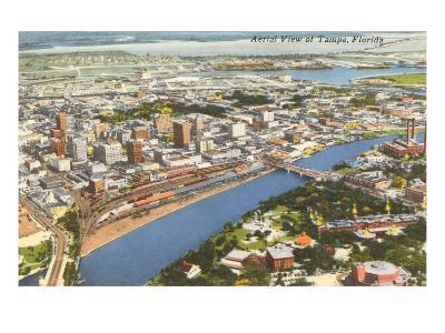 Aerial View of Tampa, Florida
