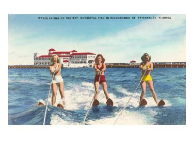 Water Skiers, St. Petersburg, Florida