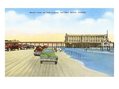 Cars on Beach, Daytona Beach, Florida