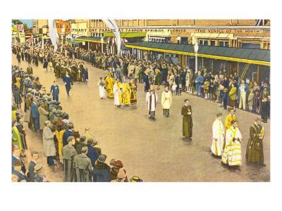 Religious Procession, Tarpon Ssprings, Florida