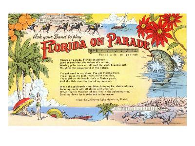 Florida on Parade, Lyrics
