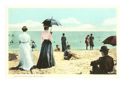 Early Beach Scene, Palm Beach, Florida
