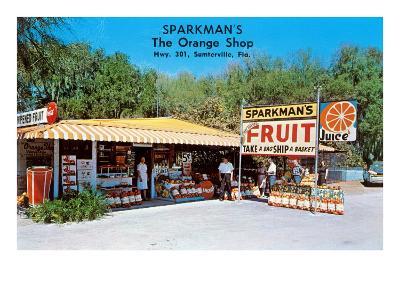 Sparkman's Orange Shop, Sumtervlle, Florida