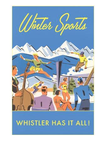 Ski Whistler, BC, Canada