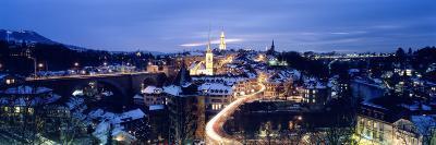 Night Bern Switzerland