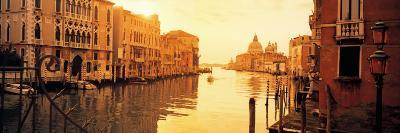 Buildings Along a Canal, View from Ponte Dell'Accademia, Grand Canal, Venice, Italy