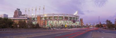 Baseball Stadium at the Roadside, Jacobs Field, Cleveland, Cuyahoga County, Ohio, USA