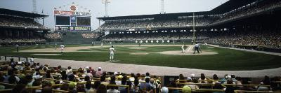 Spectators Watching a Baseball Match in a Stadium, U.S. Cellular Field, Chicago, Cook County