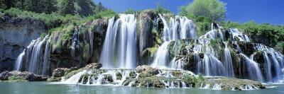 Idaho, Bonneville County, Tributary Waterfall on the Snake River