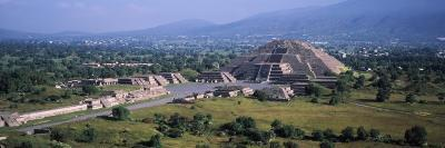 Pyramid on a Landscape, Moon Pyramid, Teotihuacan, Mexico