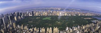 Aerial Central Park New York Ny, USA