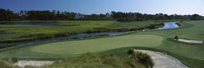 River and a Golf Course, Ocean Course, Kiawah Island Golf Resort, Kiawah Island