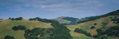 High Angle View of Hills, Santa Barbara County, California, USA