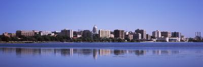 Buildings at the Waterfront, Lake Monona, Madison, Dane County, Wisconsin, USA