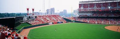 Spectators Watching a Baseball Match in a Stadium, Great American Ball Park, Cincinnati, Ohio, USA